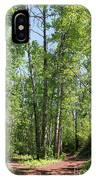 Graceful Aspen Poplars IPhone Case