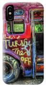 Graffiti Bus IPhone Case