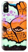 Graffiti Hands IPhone Case