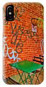 Grafitti Dining IPhone Case