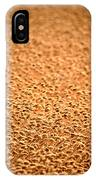 grain crop ripening in Saskatchewan IPhone Case