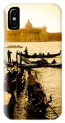 Grand Canal At Sunset - Venice IPhone Case