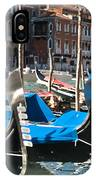 Grand Canal Gondolas Painting IPhone Case
