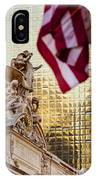Grand Central Flag IPhone Case