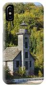 Grand Island E Channel Lighthouse 2 IPhone Case