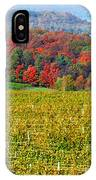 Grand Traverse Winery In Autumn IPhone Case