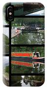 Grand Union Canal Collage IPhone Case
