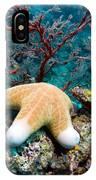 Granulated Seastar IPhone Case
