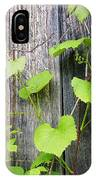 Grape Vines On An Old Barn IPhone Case