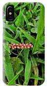 Grass Drops II IPhone Case