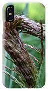 Grass Worm IPhone Case