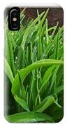 Grassy Drops IPhone Case
