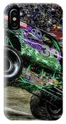 Grave Digger At Ford Field Detroit Mi IPhone Case