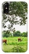 Grazing Under The Oak IPhone Case