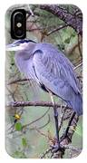 Great Blue Heron - Happy Place IPhone Case