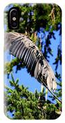 Great Blue Heron Cover Up IPhone Case