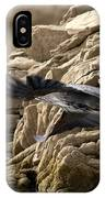 Great Blue Shoving Off IPhone Case