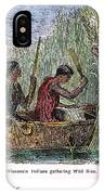 Great Lakes: Canoe, 19th C IPhone Case