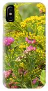 Great Southern White Butterfly Likes The Pink Flowers IPhone Case