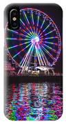 Great Wheel B IPhone Case