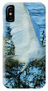 Great White And Blue IPhone Case