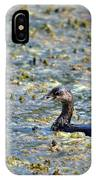 Grebe In Green IPhone Case
