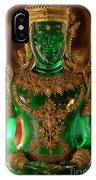 Green Buddha IPhone Case