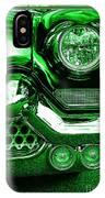 Green Chrome IPhone Case
