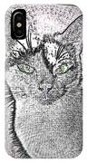 Green Eyed Monster IPhone Case