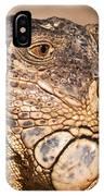 Green Iguana IPhone Case