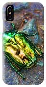 Green Junebug IPhone Case