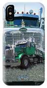 Green Peterbilt Dbl. Exposure IPhone Case