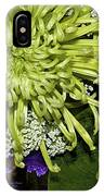 Green Spider Mum IPhone Case