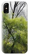 Green Tree And Pampas Grass IPhone Case