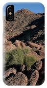 Green Tuft In Sandstone IPhone Case