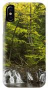 Greenstone Falls 4 IPhone Case