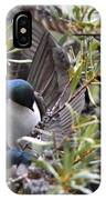 Grey Feathers - Tree Swallow IPhone Case
