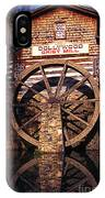 Grist Mill In The Smokies IPhone Case