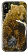 Grizzly Bear And Cubs IPhone Case