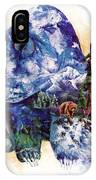 Grizzly Blue IPhone Case