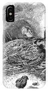 Grouse And Young IPhone Case