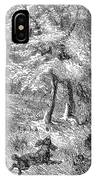 Grouse Hunting, 1855 IPhone Case