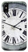 Grungy Clock IPhone Case