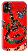 Guitar Jazz IPhone Case