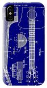 Gibson Guitar Truss Rod Patent 1923 IPhone Case