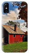 Hale Farm In Autumn IPhone Case