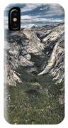 Half Dome Valley IPhone Case