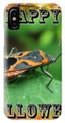 Halloween Greeting Card - Box Elder Bug IPhone Case