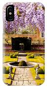Hampton Court Gardens IIi IPhone Case