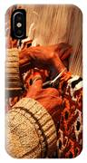 Hands Of The Carpet Weaver IPhone Case